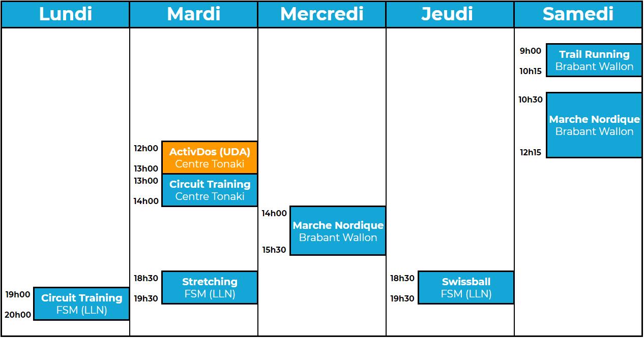Programme Actisport